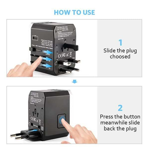 Travel Adapter How to