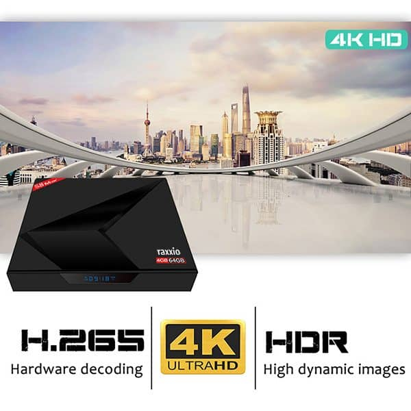 S8 Max Android Box