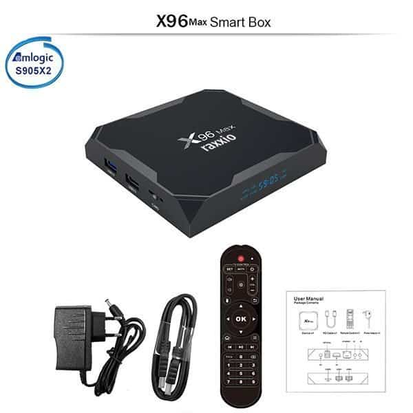X96 Max Android Box