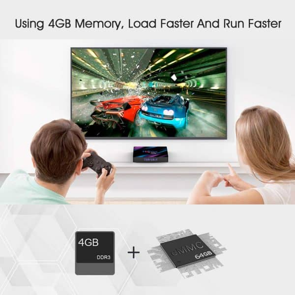 H96 Max Android Box 4GB/64GB