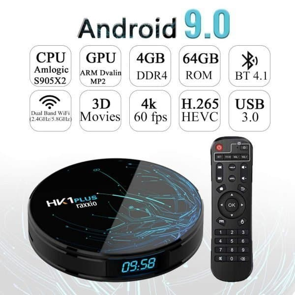HK1 Plus Android Box